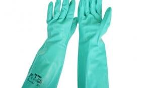37-165丁腈橡胶防化手套 加厚款