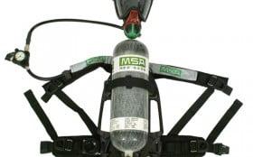 空气呼吸器之面罩保养维护