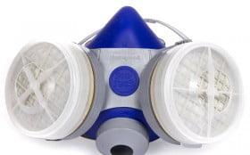 半面罩防毒面具的使用方法