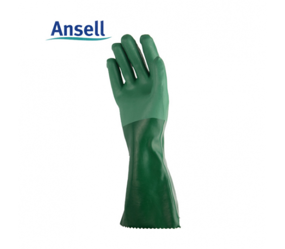 安思尔 8-354氯丁橡胶防化手套