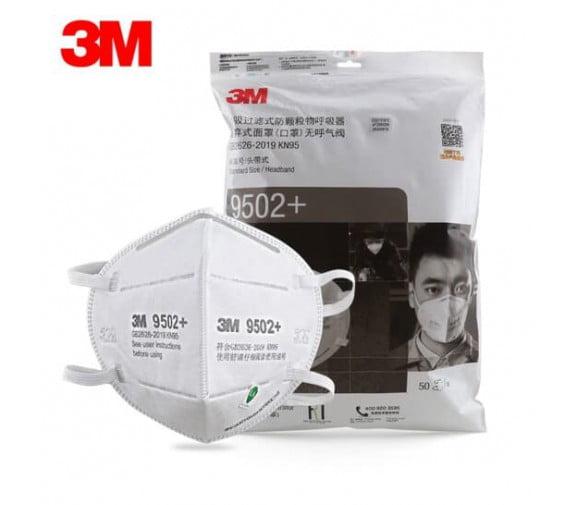 3M 9501V+ 防PM2.5颗粒物口罩