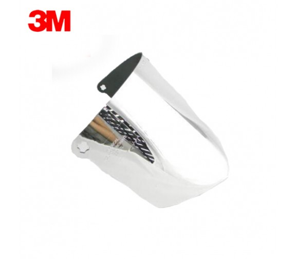 3M  中度绿色镀铝防护面罩 82509-广州阳越劳保用品