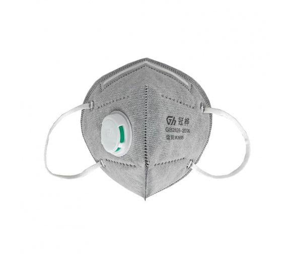 冠桦 M-8861SV 折叠活性炭带阀防尘口罩
