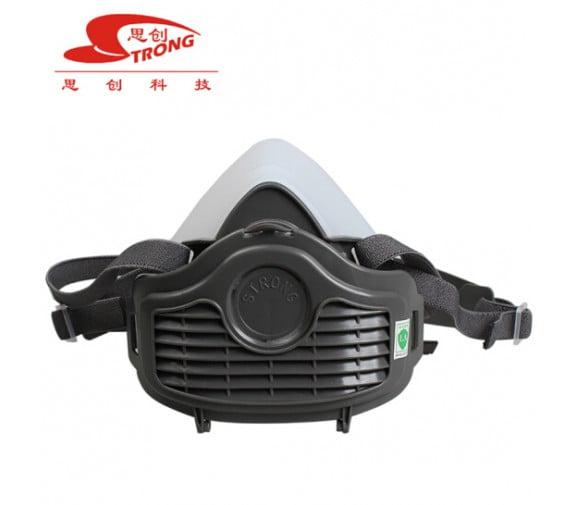 思创半面具硅胶防尘面罩ST-1080