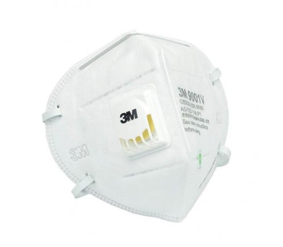3M 9001V 带阀防尘口罩--广州呼吸防护用品供应商
