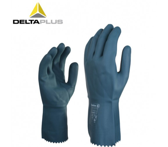 代尔塔201530氯丁橡胶防化抗菌手套