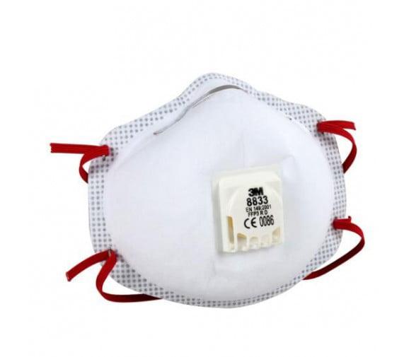 3M 8833防尘防金属烟口罩--广州防护口罩批发商