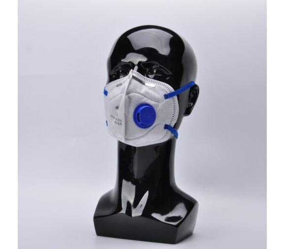 南核NH 1207带阀KP95活性炭防毒口罩