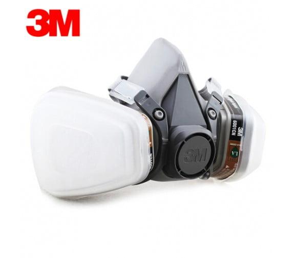 3M 620p防毒面具套装--广州呼吸防护用品