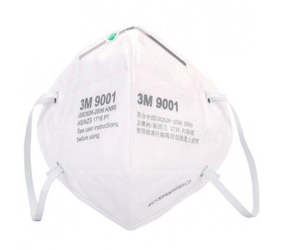 3M 9001折叠式防尘口罩--广州防尘口罩批发