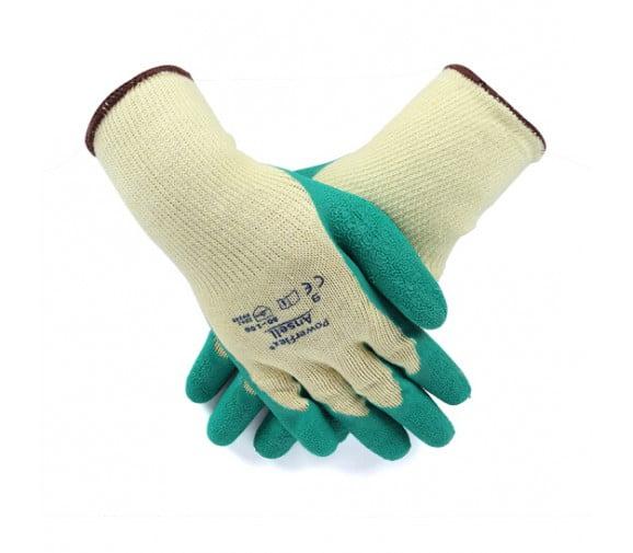安思尔 80-100 橡胶防割耐磨防滑手套