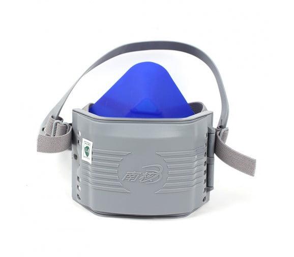 南核NH 8180低阻高效硅胶防尘半面罩