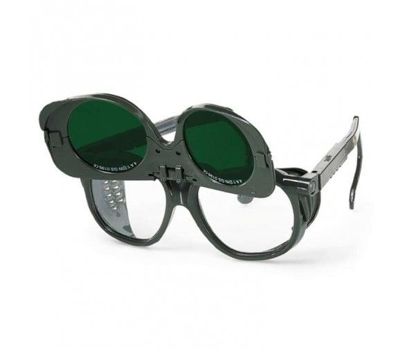 优唯斯(UVEX) 翻盖式滤光焊接防护眼镜 9103-广州阳越劳保用品