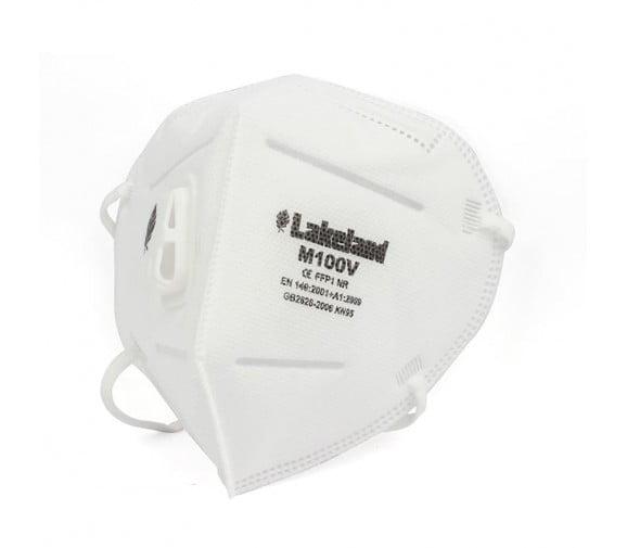 雷克兰 M100V 折叠带阀专业防护口罩