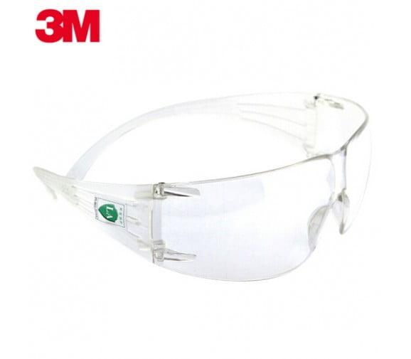 3M  SF201防雾防冲击防风沙防护眼镜