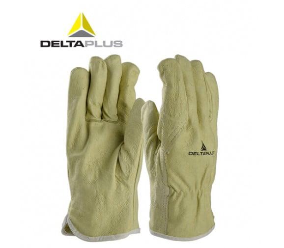 代尔塔DELTA 204159猪皮防油手套--广州通用劳保手套批发商