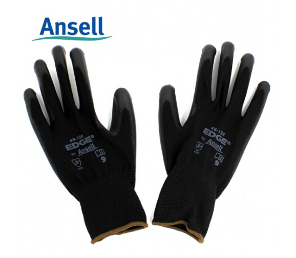 安思尔ansell 48-126耐磨抗撕裂PU涂层手套