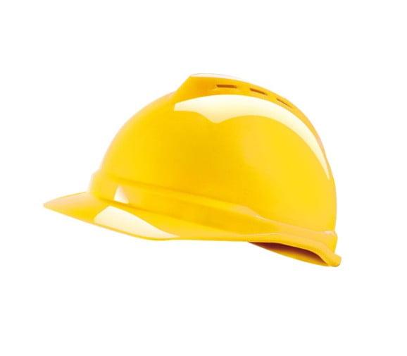 梅思安(MSA)V-Gard豪华型ABS安全帽 10108994-阳越安防
