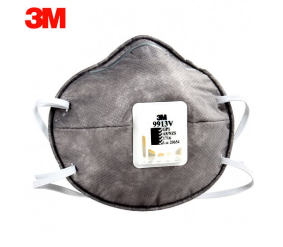 3M 9913V有机蒸气异味防护口罩