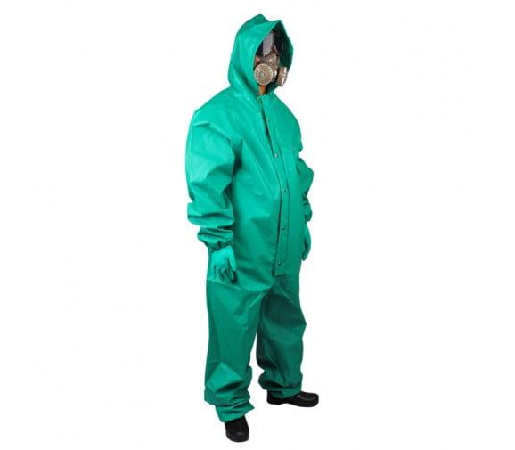 代尔塔(DELTA)401015涂层液密连体PVC防化服
