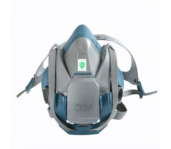 3M 6502QL 快扣硅胶半面型防护面罩