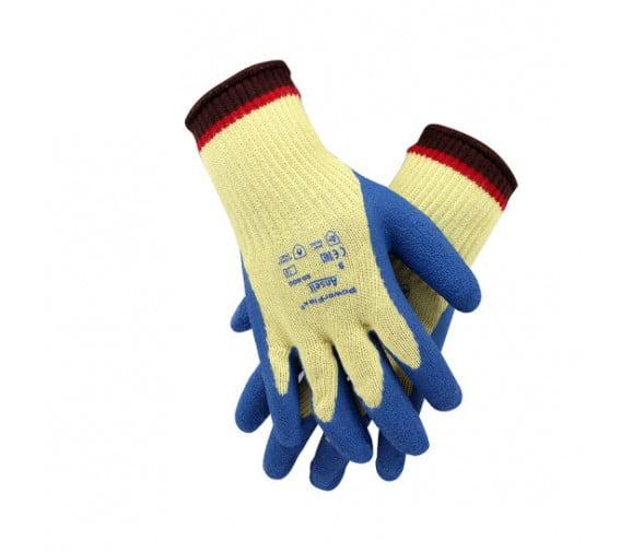 安思尔 80-600 天然橡胶涂层防割手套