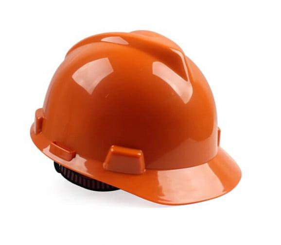 梅思安 10146459 标准型 PE黄色安全帽