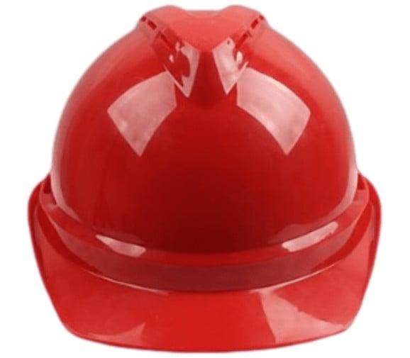 梅思安(MSA)10146668 V-Gard500豪华ABS红色安全帽