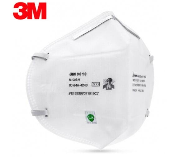 3M 9010防尘口罩 防流感--广州口罩批发供应商