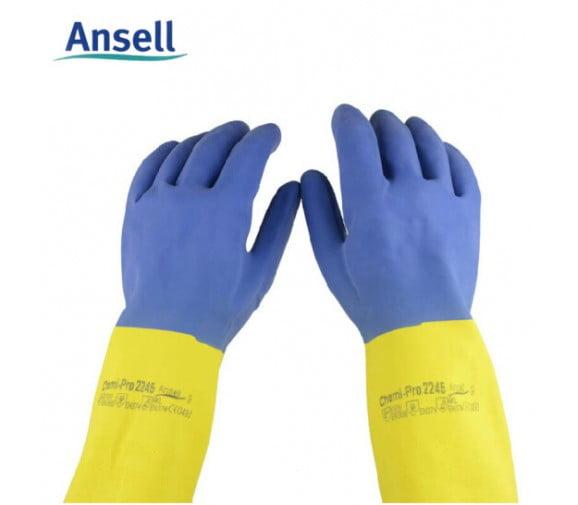 安思尔Ansell 2245氯丁橡胶耐酸碱手套