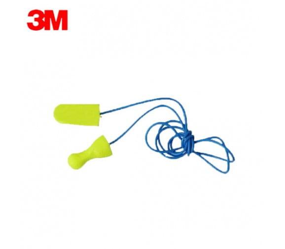3M 311-1250子弹型带线隔音耳塞--广州阳越安防