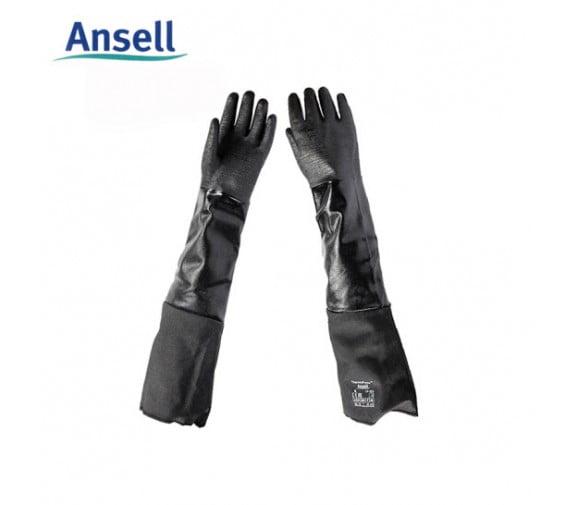 安思尔Ansell 19-026防水防化耐高温手套
