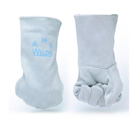 威特仕WELDAS 10-2112牛二层皮电焊阻燃手套
