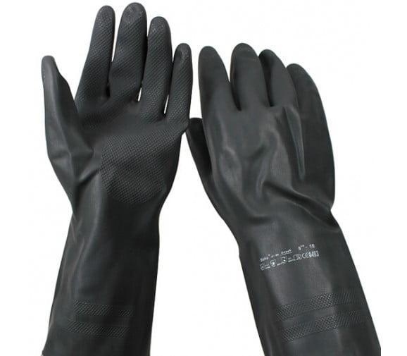 安思尔 87-950 重量型耐酸碱化工橡胶手套