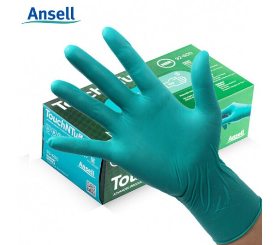 安思尔 92-600一次性丁腈抗刺穿手套