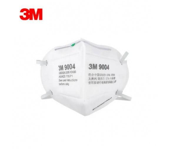3M 9004头带式折叠式防尘口罩--广州劳保产品供应商