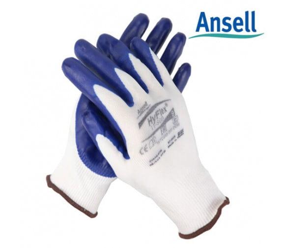 安思尔 11-900 防磨损丁腈涂层手套