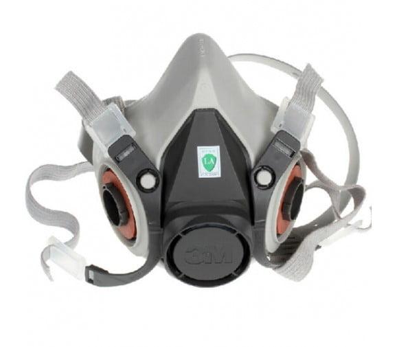 3M 6100防毒半面罩--劳保面罩供应商