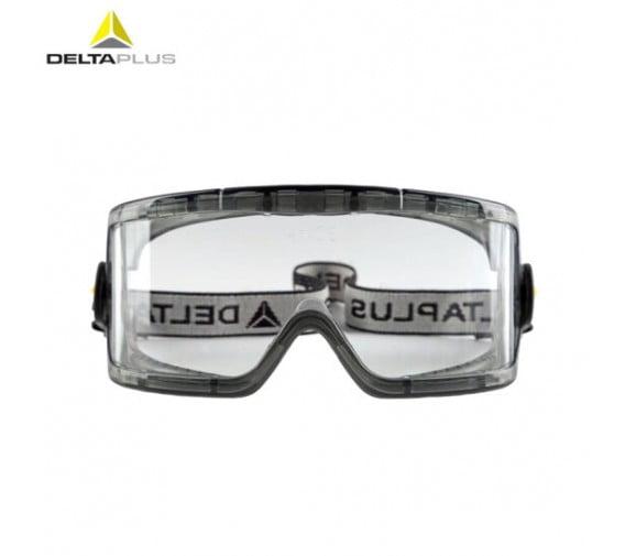 代尔塔(DELTA)透明PC防化防喷溅护目镜 101104-广州阳越劳保用品