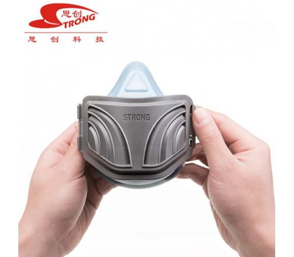 思创ST-1020A硅胶防颗粒物呼吸器