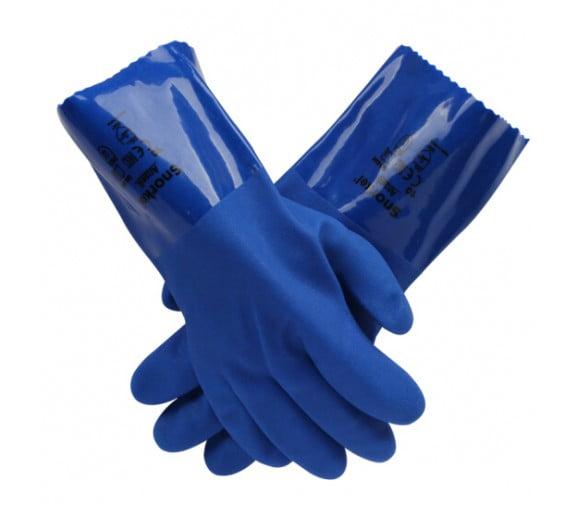 安思尔 4-644聚氯乙烯防化手套--广州劳保手套供应商