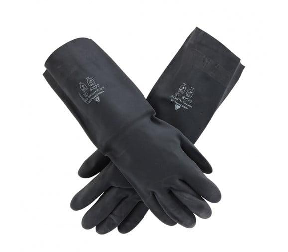 代尔塔201510氯丁防化耐酸碱手套
