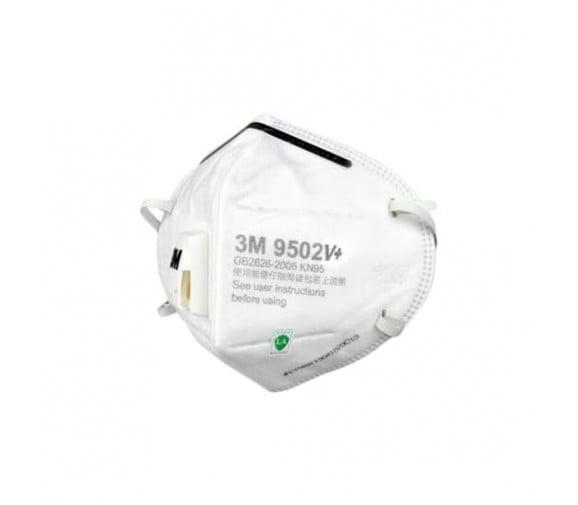 3M 9502V+头戴式带阀防颗粒物口罩
