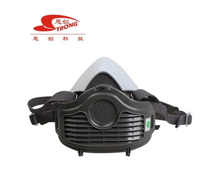 半面具硅胶防尘面罩ST-1080