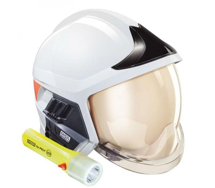 10158869 白色消防头盔