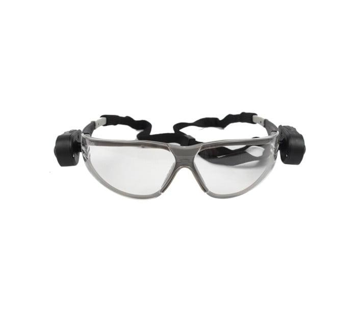 带双射灯 夜间作业防护眼镜 11356