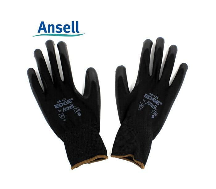 48-126耐磨抗撕裂PU涂层手套