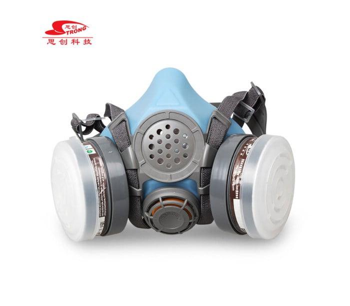 ST-M50G防毒防甲醛双罐半面具