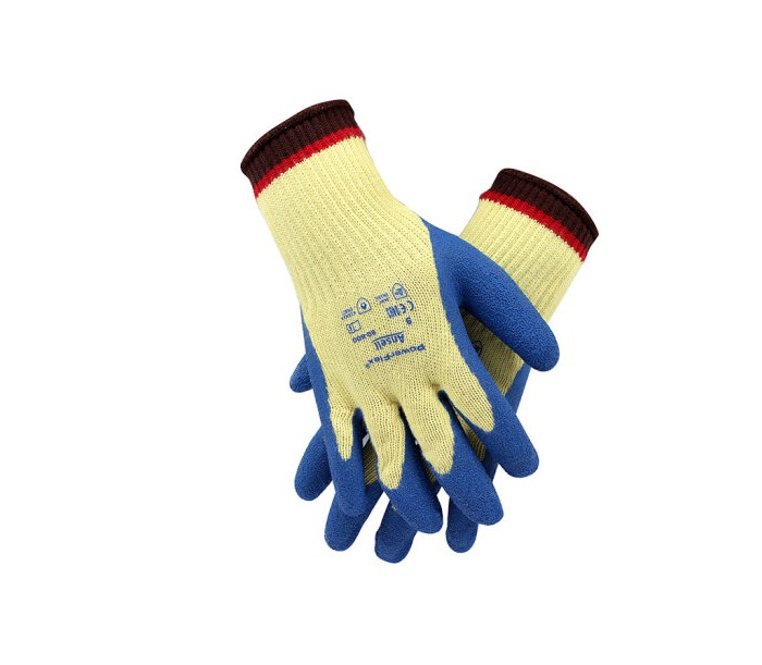 80-600 天然橡胶涂层防割手套