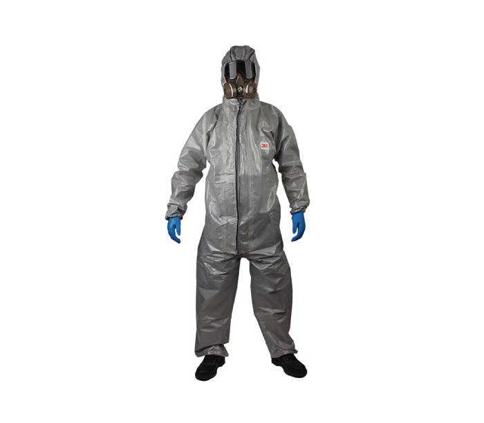 4570 防轻度化学液体飞溅连体防化服